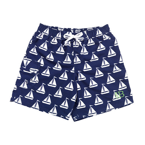 Kid's Sail Away Swimsuit Set