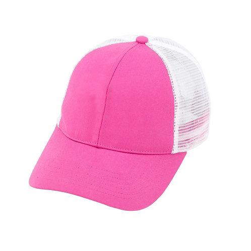 Hot Pink Trucker Cap