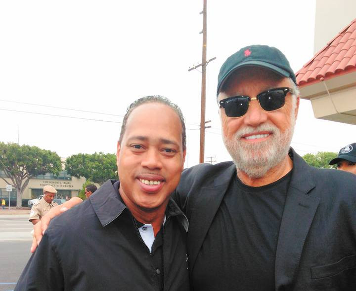 Bishop Brewer w. the CEO of the Los Ange