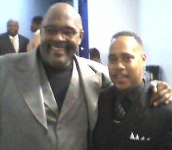 Bishop Brewer w. Bishop Marvin L. Winans
