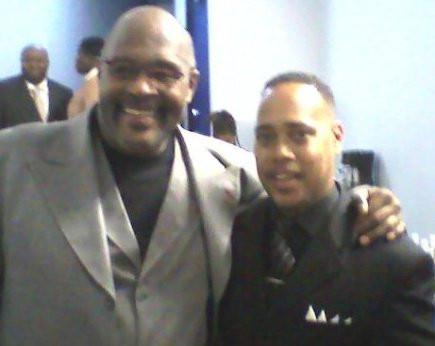 Bishop Brewer w. Bishop Marvin L. Winans