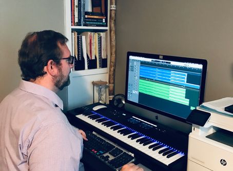 New YouTube Channel Plus Four New Compositions Completed Over The Summer