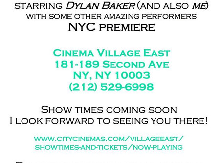 New York City Premier of THE MISOGYNISTS!!