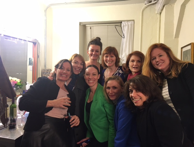 Celebrating Allison Wright's B'way debut