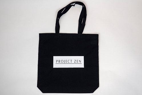 Project Zen FPV Drone Black Canvas Tote Bag