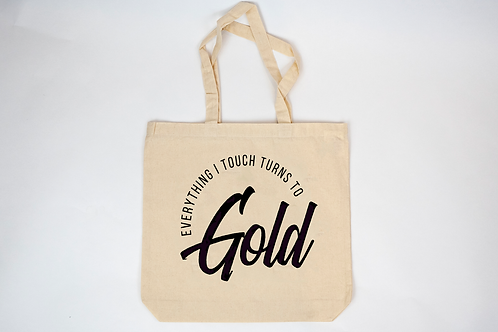 100% recycled cotton tote bag by Bri Seeley