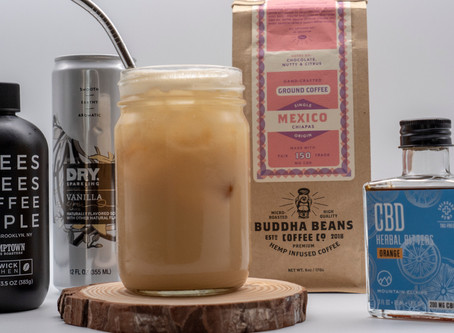 CBD Vanilla Iced Coffee