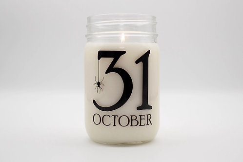 OCTOBER 31st CANDLE