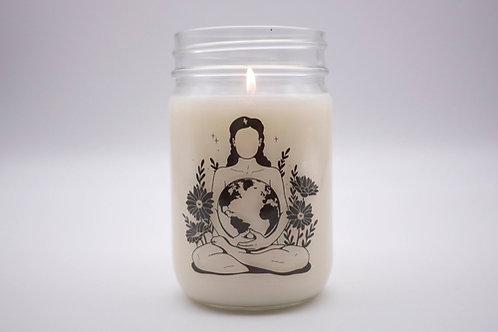 MOTHER EARTH CANDLE - BROKEN ISN'T BAD