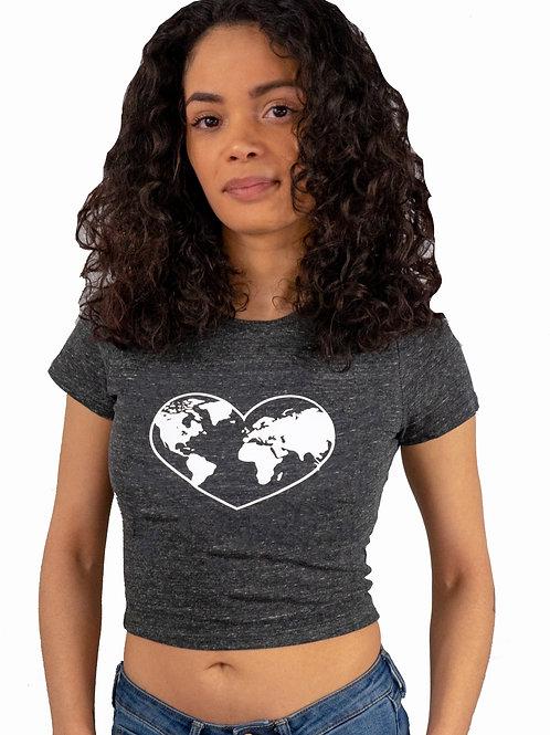 Love Earth Women's Crop Top Sized XS-L