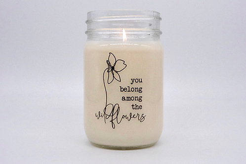 WILDFLOWERS CANDLE