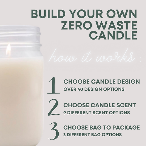 BUILD YOUR OWN CANDLE