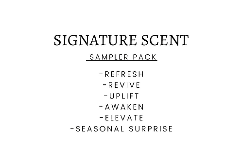 SIGNATURE SCENT SAMPLER PACK (6)
