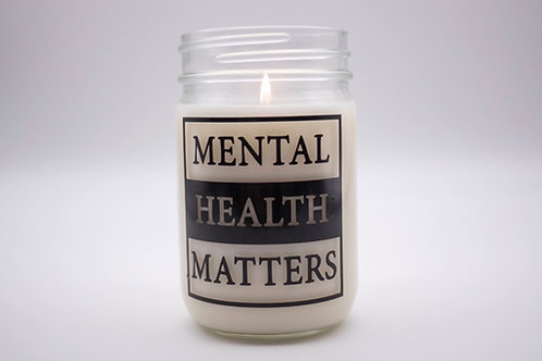 MENTAL HEALTH MATTERS CANDLE