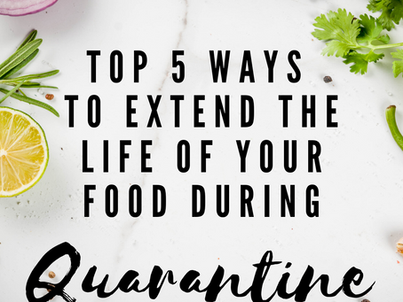 Zero Waste Quarantine Cooking Tips