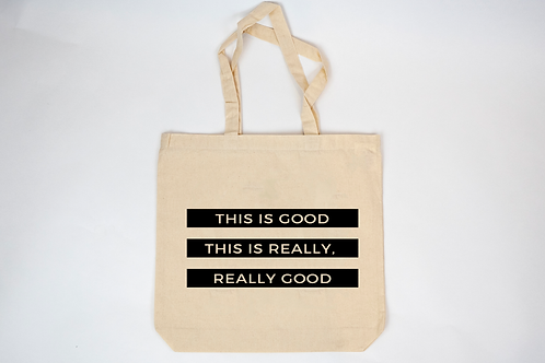 100% Recycled Cotton CanvasTote Bag by Bri Seeley