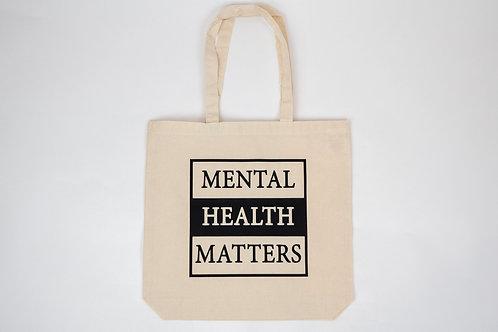 Mental Health Matters Canvas Tote Bag