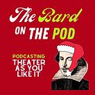 Podcast Logo xmas - The Bard On The Pod.