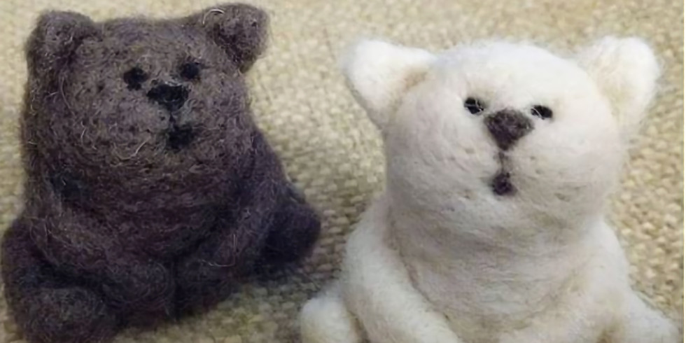 Needle Felted Cat Class