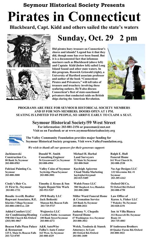 Pirates in Connecticut