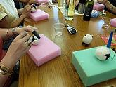 Needle felted sheep class.jpg