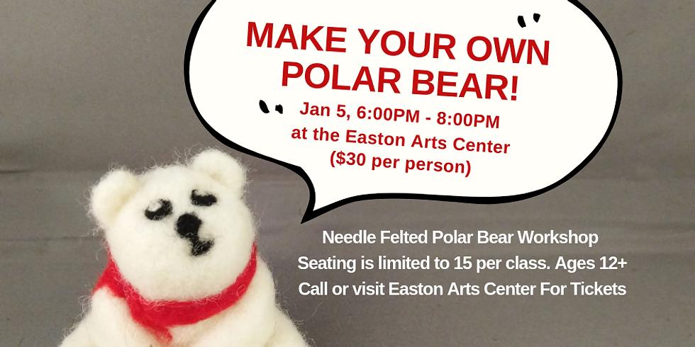 Needle Felted Polar Bear Workshop
