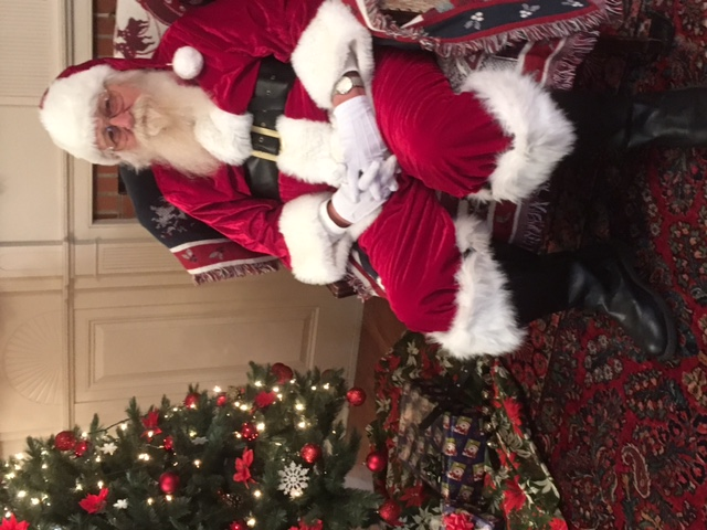 Santa at the house