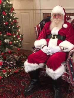 Santa at the house
