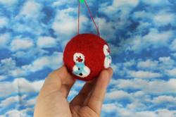 Snowman ball ornament