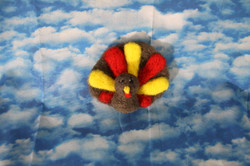 Holiday Turkey Ornament