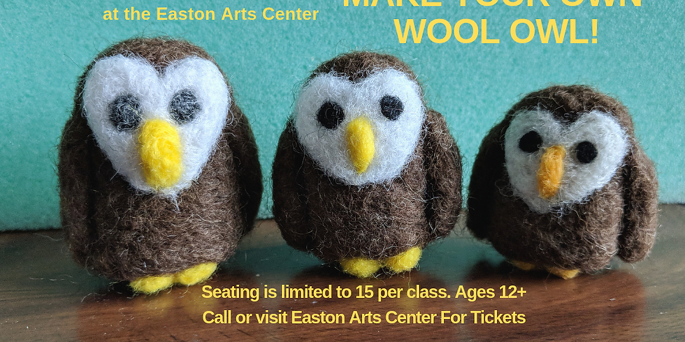 Make Your Own Wool Owl
