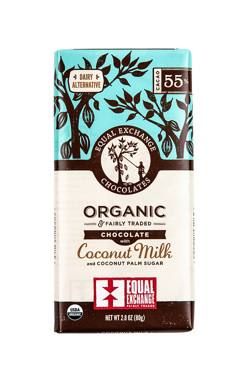 Equal Exchange Chocolate-Coconut Milk