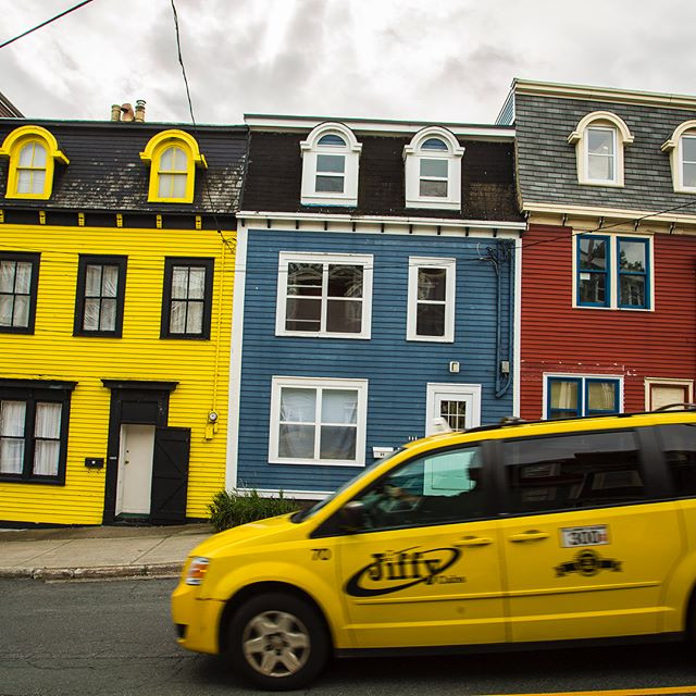 #colors of #stjohns #newfoundland