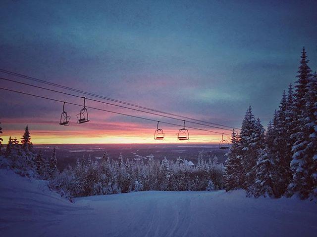 #saguenay #winter #ski #valinouet #quebe