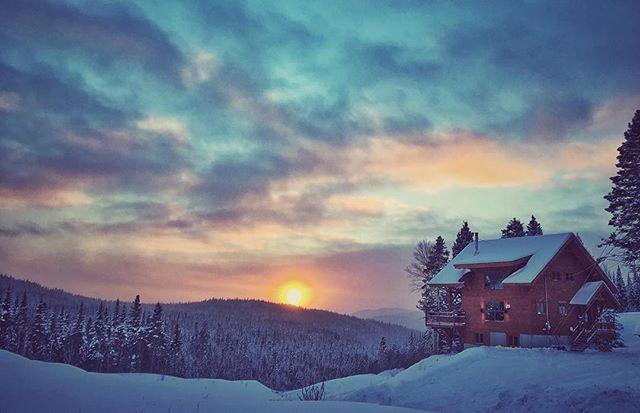 #saguenay #quebec #winter #sun #hiver #v