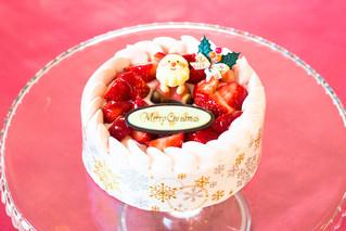 クリスマスケーキの予約受付中!