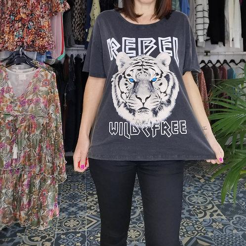 Tee shirt tigre REBEL