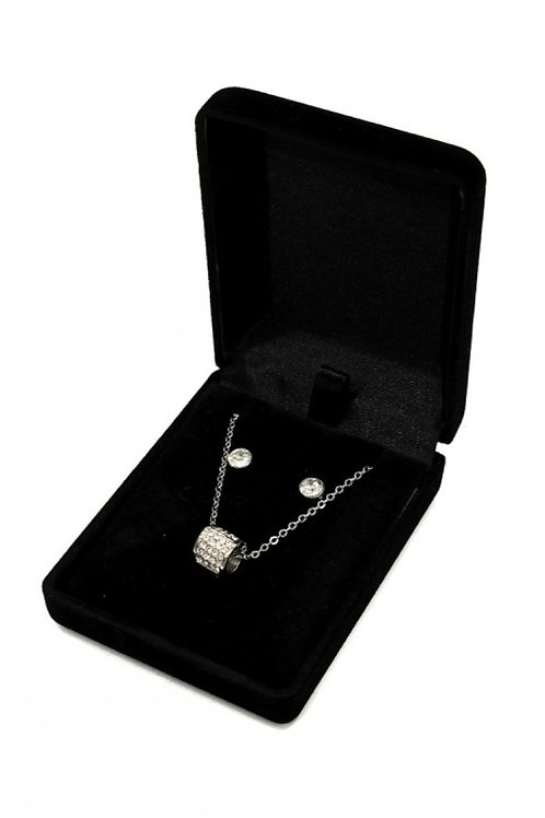coffret bijoux en métal STRASS