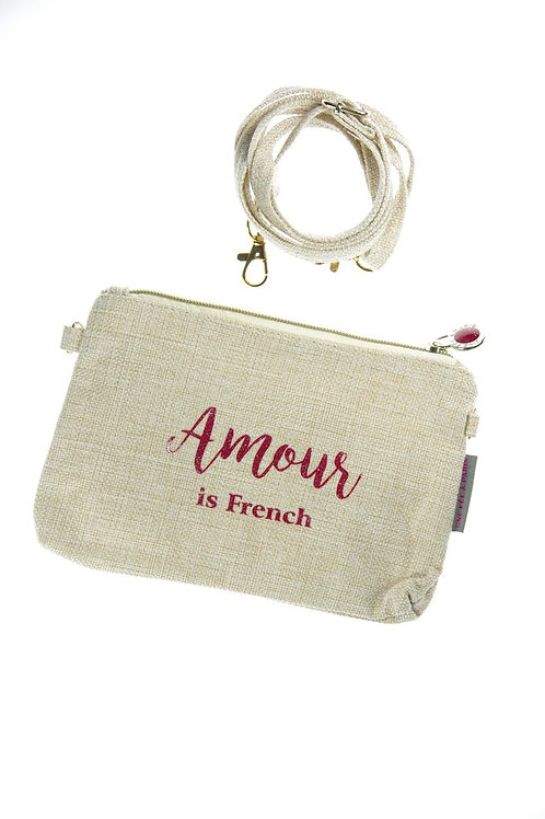 Sacoche « Amour is French »