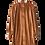Thumbnail: Robe effet velours ISABELLE