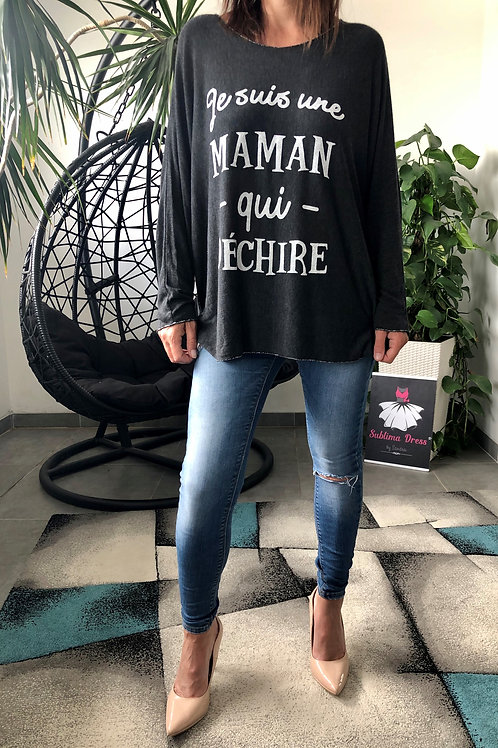 "Top à message ""MAMAN QUI DECHIRE"""