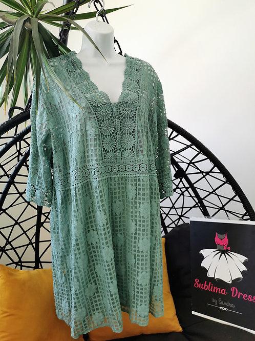 Tunique robe en dentelle SUZANNA