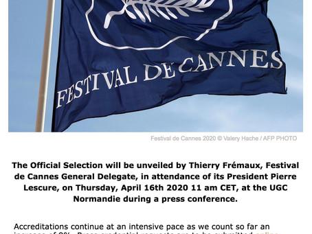 El Festival de Cannes sigue adelante