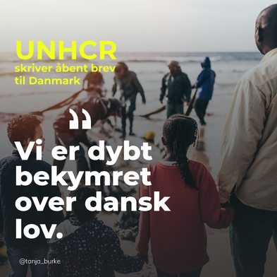 UNHCR i åbent brev