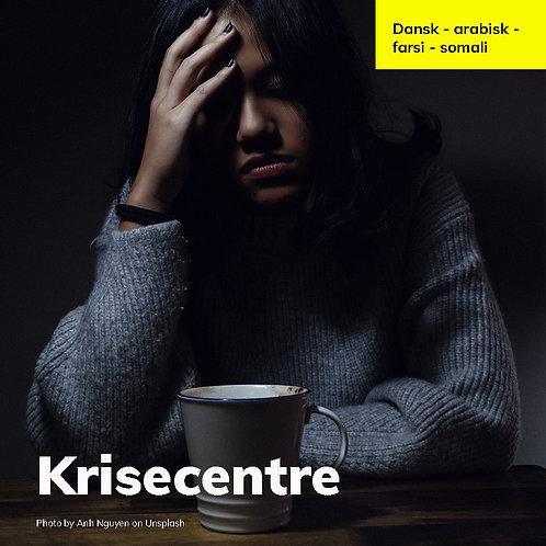 Krisecentre dansk-farsi-arabisk-somali