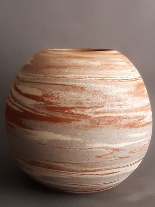 M0035IL  Marble Vase Crater Series