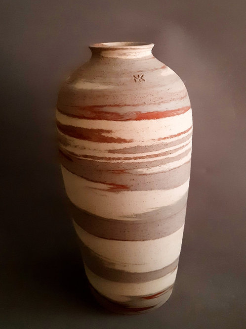 M0044IL Marble Vase Crater Series