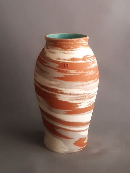 M0032IL   Marble Vase Crater Series