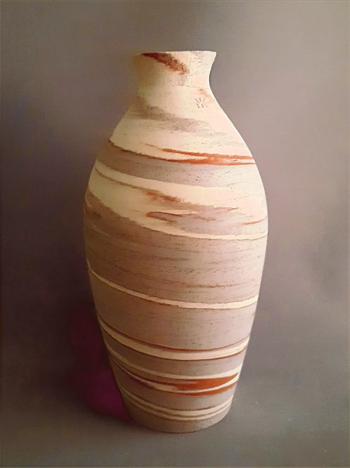 M0042IL  Marble Vase Crater Series