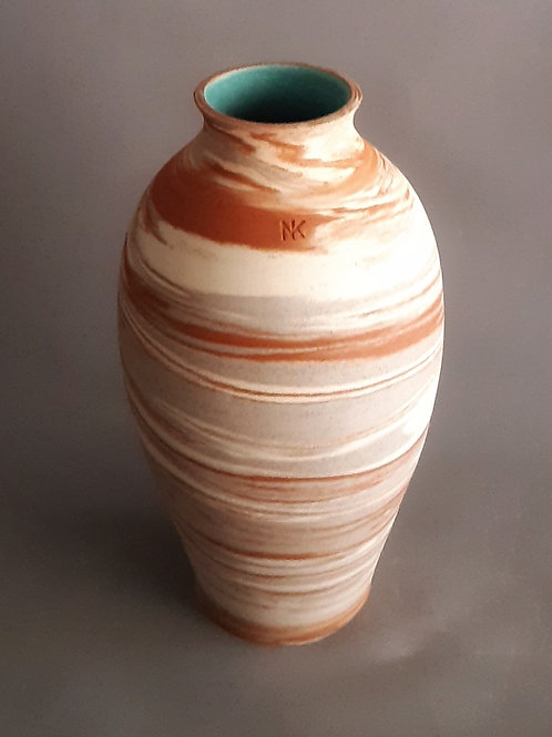 M0033IL  Marble Vase Crater Series